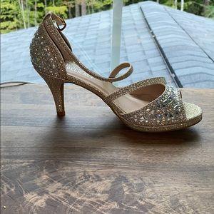 Sparkly 2 Inch Heel